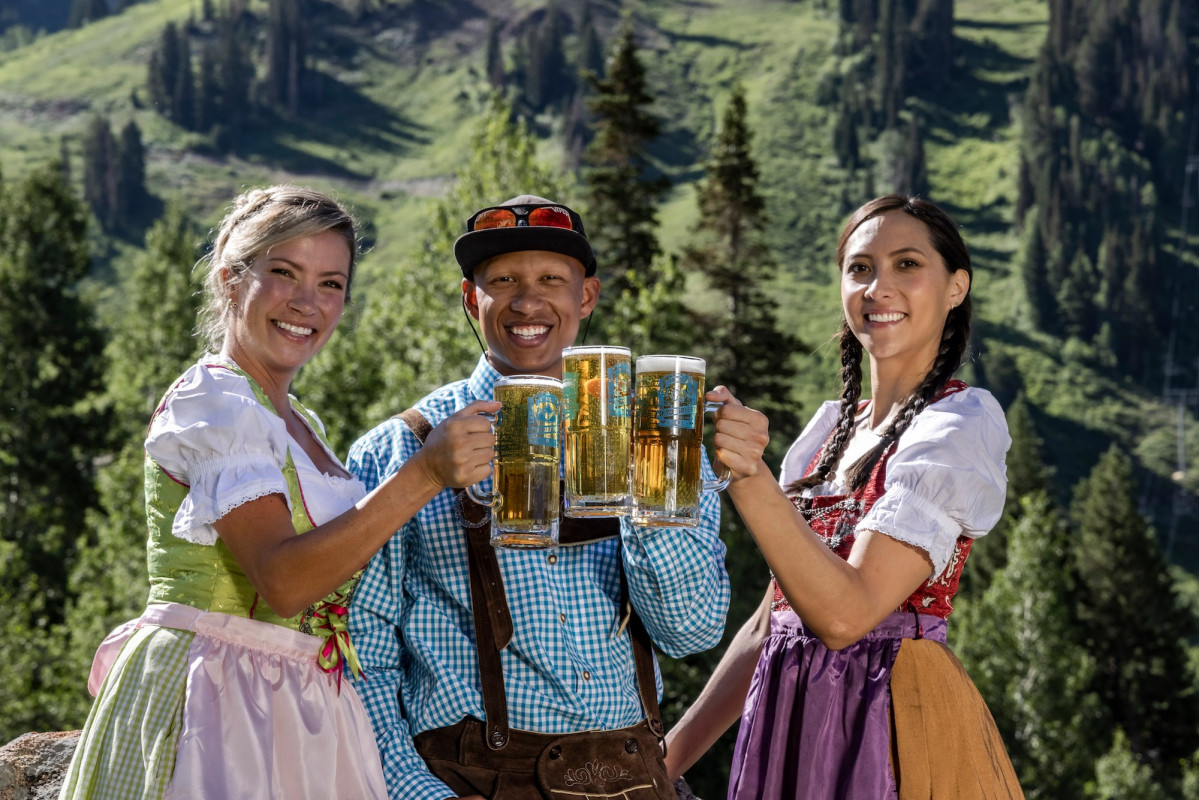 The Oktoberfest in Breckenridge will give you an authentic taste of Germany