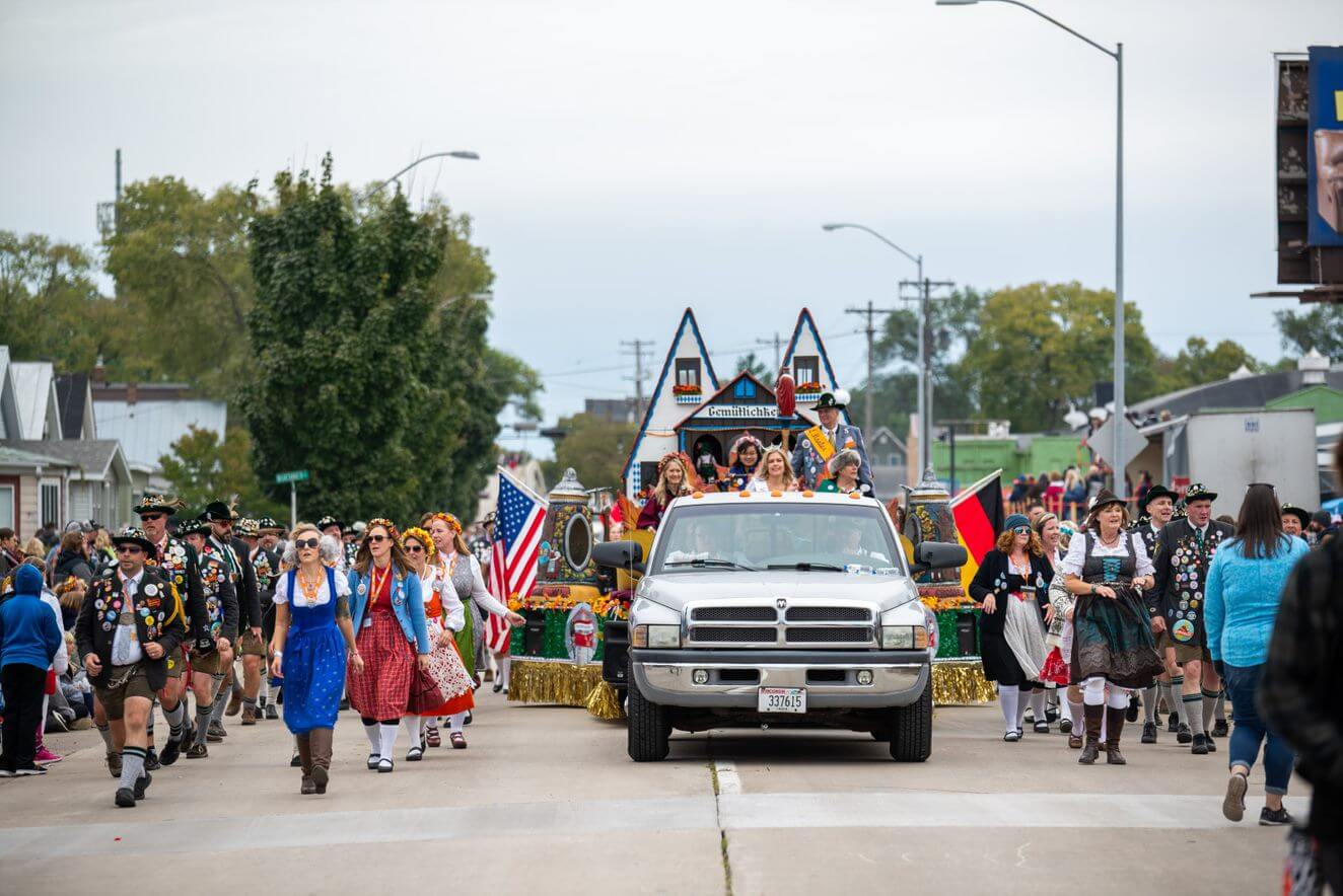 The Oktoberfest USA will bring back the Royal Family Torchlight & Maple Leaf Parade Marshals