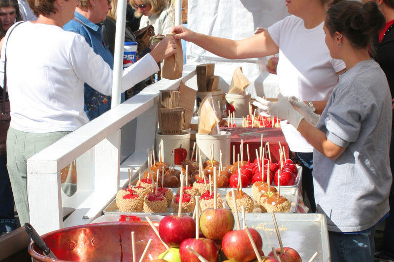 you'll be amazed by a myriad of vendors on the festival's ground