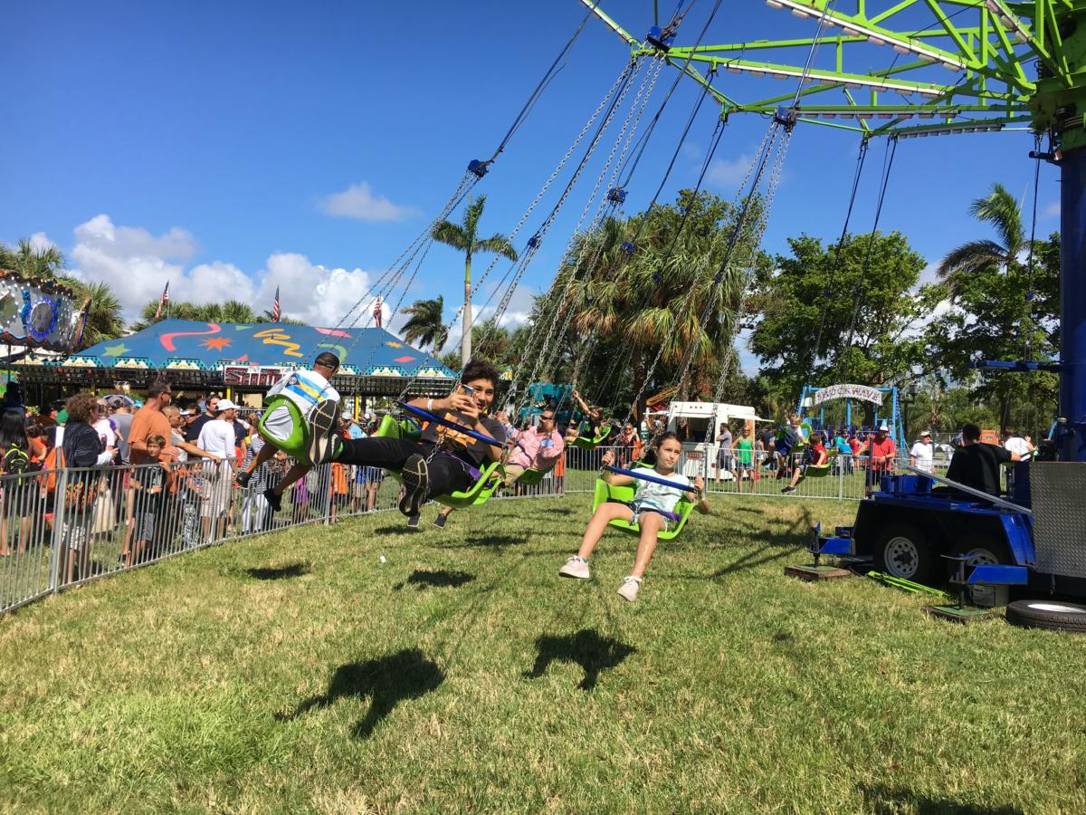 The carnival race for kids