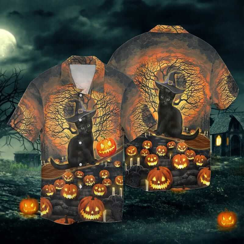 The cat Halloween shirts for cat lovers.