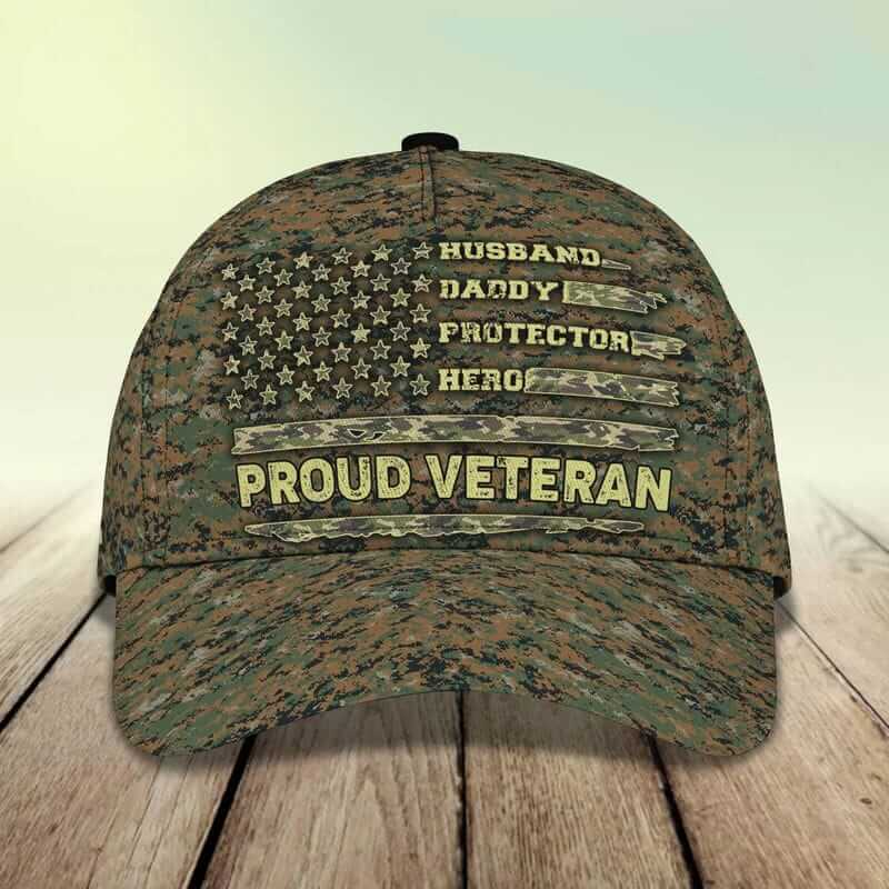 You should know one-of-a-kind Veteran hat style.