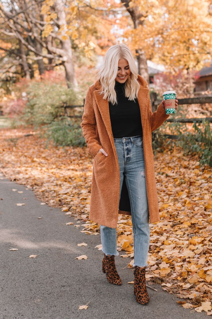 Coats or jackets are a must for the fall season
