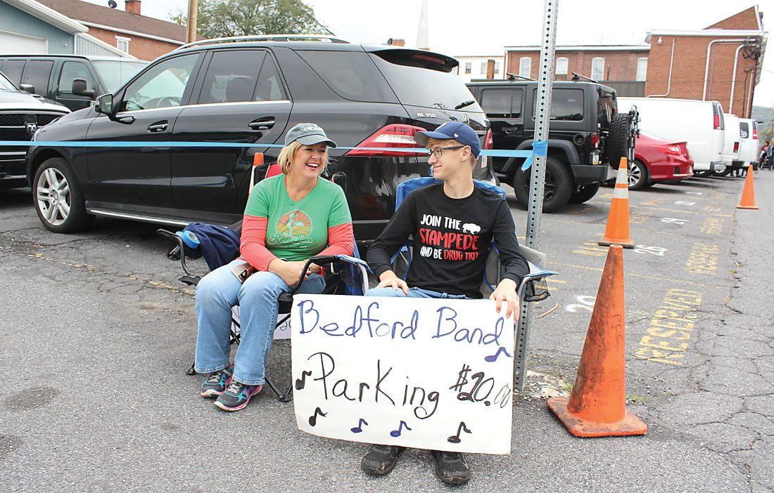 Where To Park At The Bedford Fall Foliage Festival