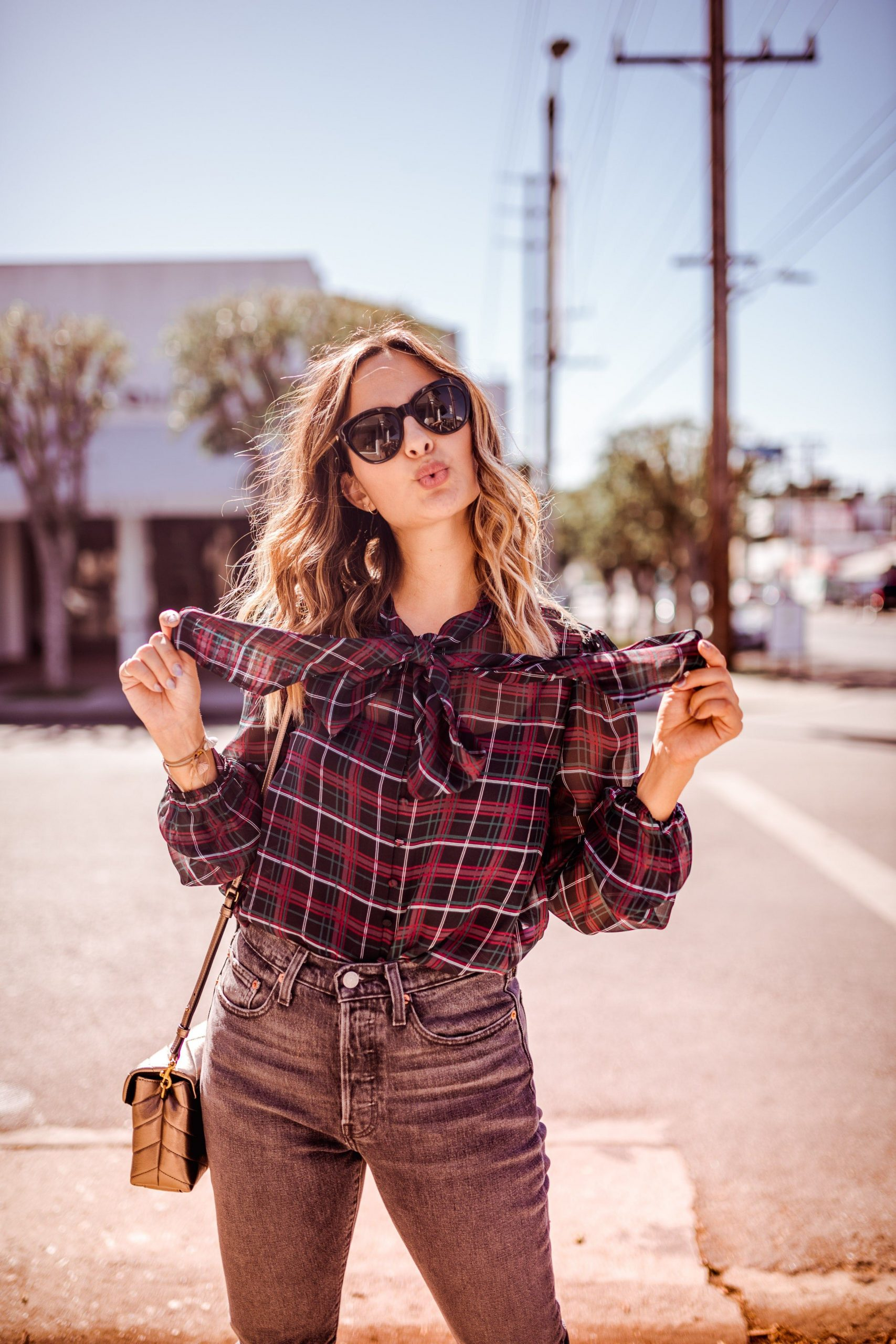 A plaid shirt is made up for casual outfits and also festival outfits