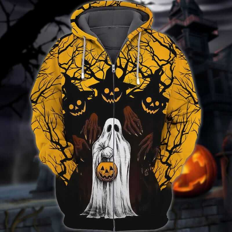 The spooky Hoodie for Halloween night.