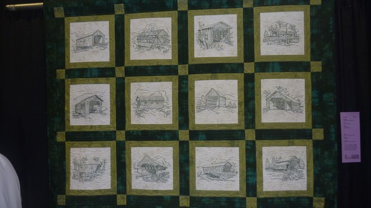 The Covered Bridge Quilters Quilt Show
