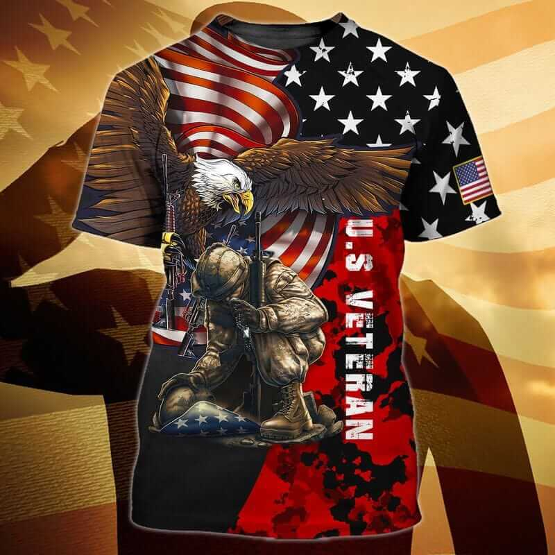 Veteran t shirts with eagles