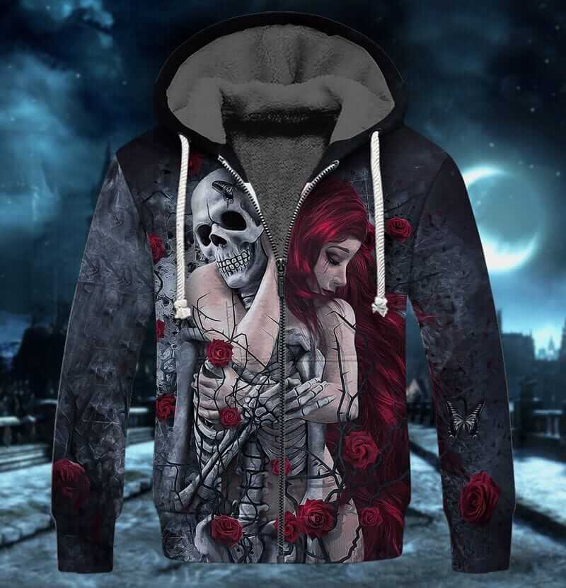 Romantic love clothes for Halloween.
