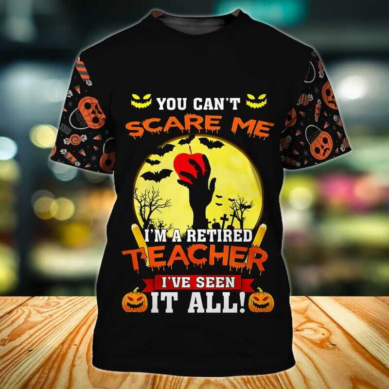 The best scary halloween shirts