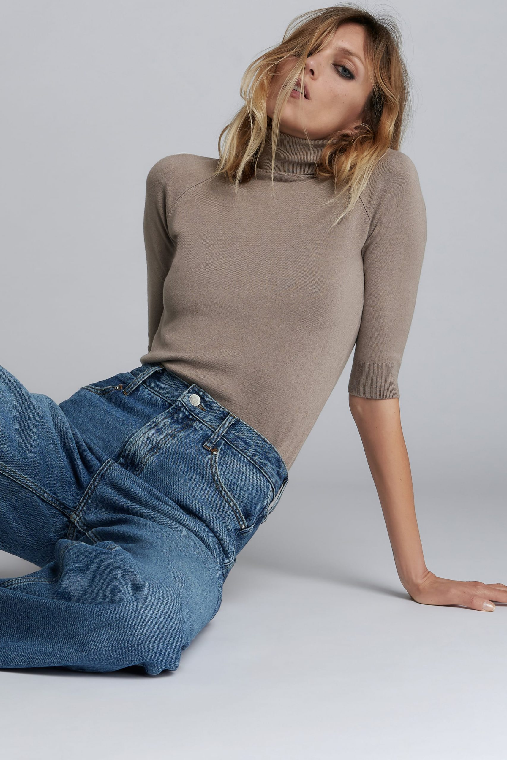 Knit Sweater is the best item for fall