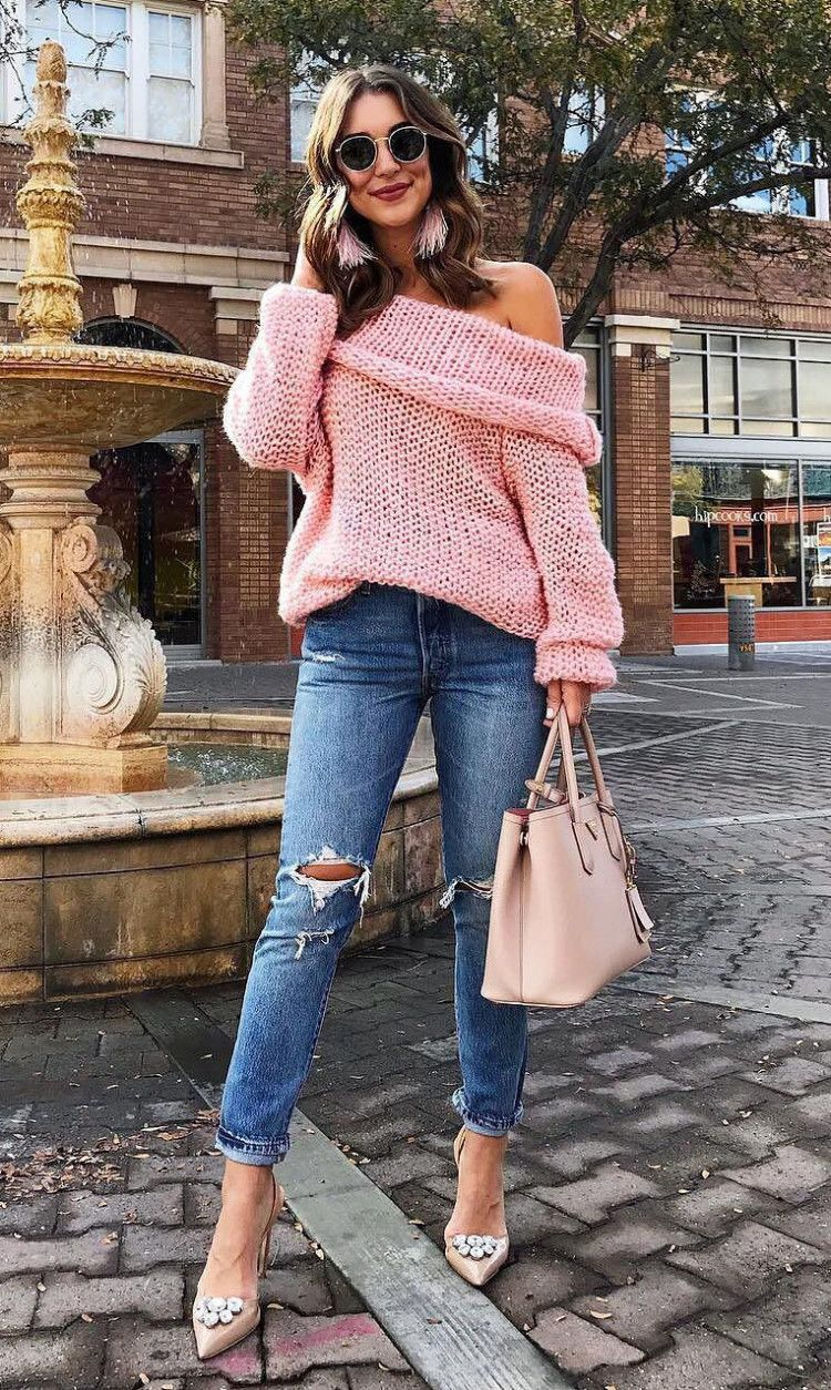 A little grey and blush pink will make you look good